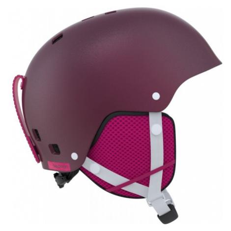 Salomon KIANA red wine - Ski helmet