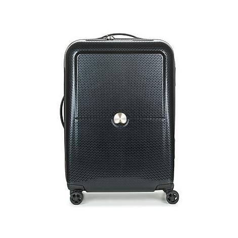 Delsey TURENNE CAB 4R 55CM men's Hard Suitcase in Black