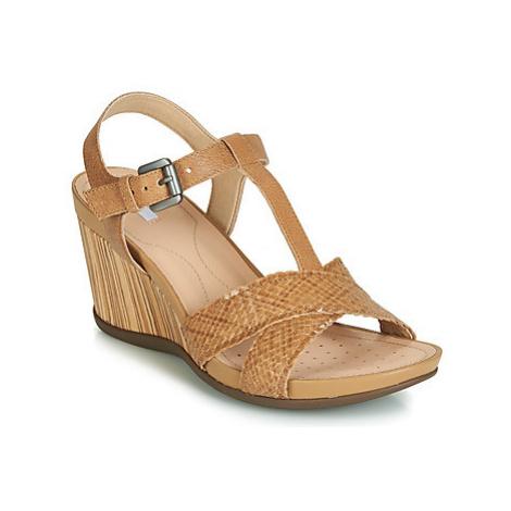 Geox DOROTHA E women's Sandals in multicolour