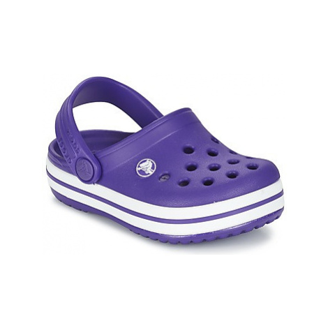 Crocs Crocband Clog Kids girls's Children's Clogs (Shoes) in Purple