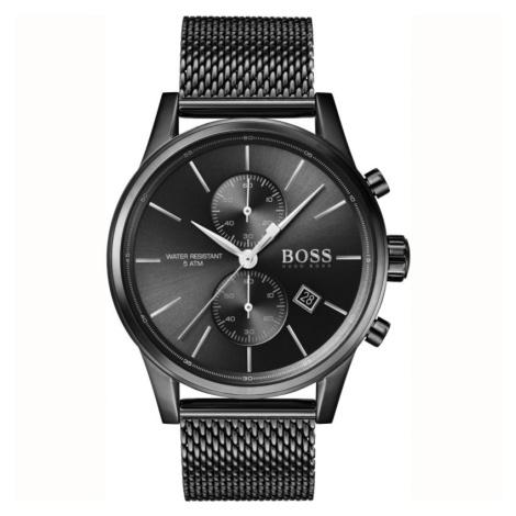Gents Hugo Boss Quartz Jet Black Watch