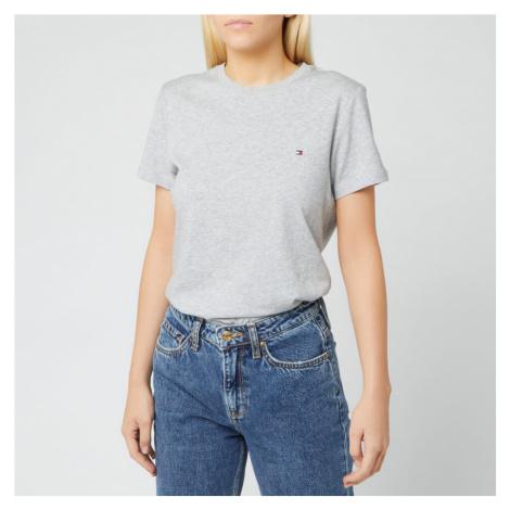 Tommy Hilfiger Women's Heritage Crew Neck T-Shirt - Light Grey Heather