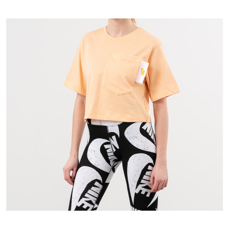 Nike Sportswear Crop Top Orange Chalk/ White/ Laser Orange