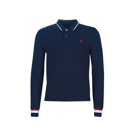 U.S Polo Assn. JAKOB POLO men's Polo shirt in Blue U.S. Polo Assn