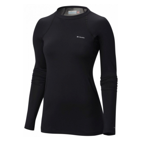Columbia MIDWEIGHT LS TOP W black - Women's functional thermo long sleeve T-shirt