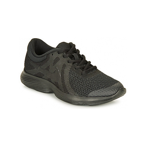 Nike REVOLUTION 4 GRADE SCHOOL boys's Children's Shoes (Trainers) in Black