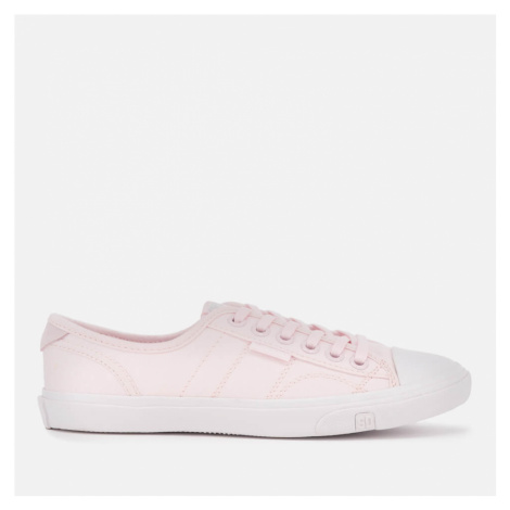 Superdry Women's Low Pro Canvas Trainers - Soft Pink - UK