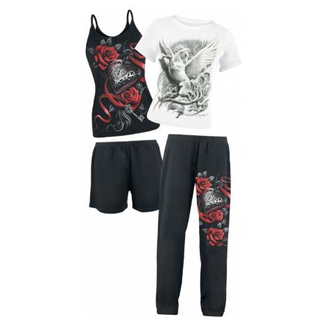 Spiral - Purity - Pyjamas - black-white