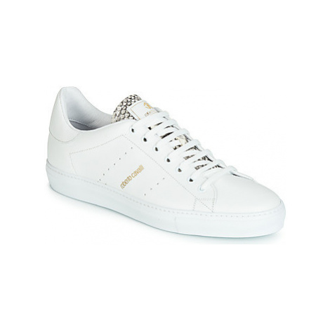 Roberto Cavalli 6625 men's Shoes (Trainers) in White