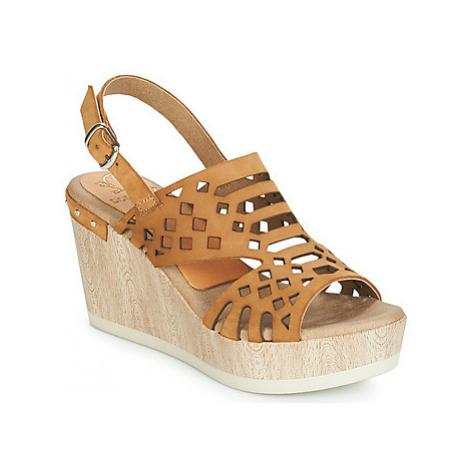 Dorking 7756 women's Sandals in Brown