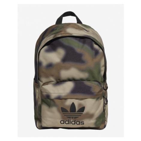 adidas Originals Camo Classic Backpack Green Brown