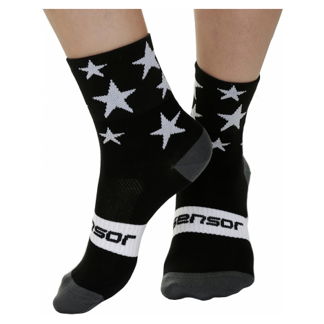 socks Sensor Stars - Black/White