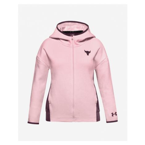 Under Armour Project Rock Kids Sweatshirt Pink