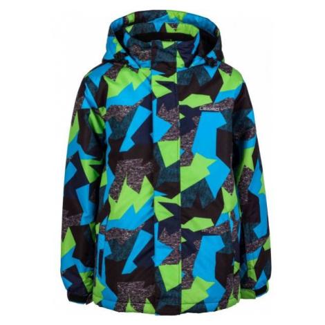 Lewro SIMA black - Kids' snowboard jacket
