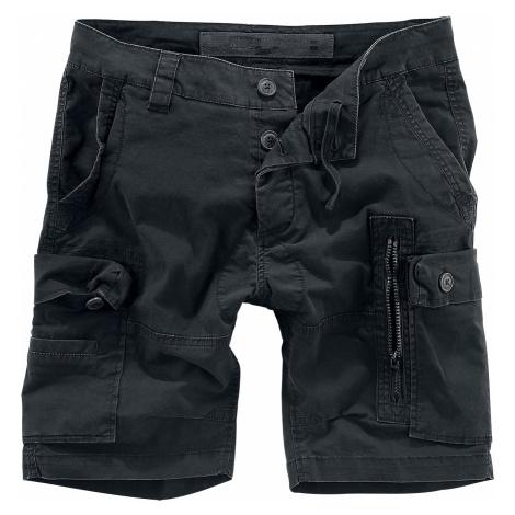 Brandit - Kite Short Slim Fit - Shorts - black