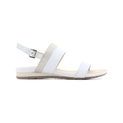 Geox D Formosa C D7293C 085GL C0007 women's Sandals in White