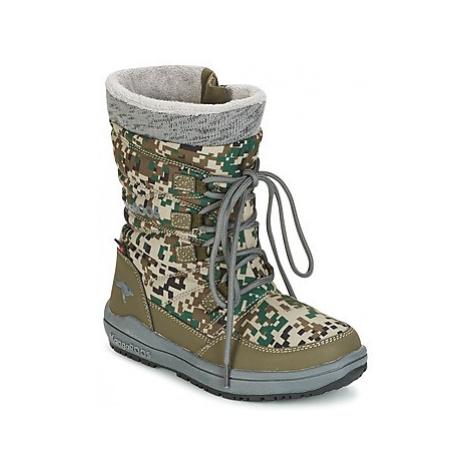 Kangaroos LORE girls's Children's Snow boots in Green