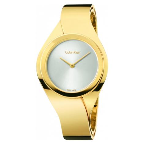 Ladies Calvin Klein Senses Small Bangle Watch K5N2S526