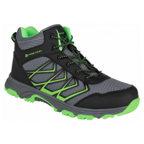 ALPINE PRO JACOBO MID green - Kids' outdoor shoes
