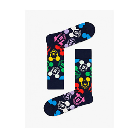 Happy Socks Disney Colourful Character Mickey Mouse Socks, One Size, Multi