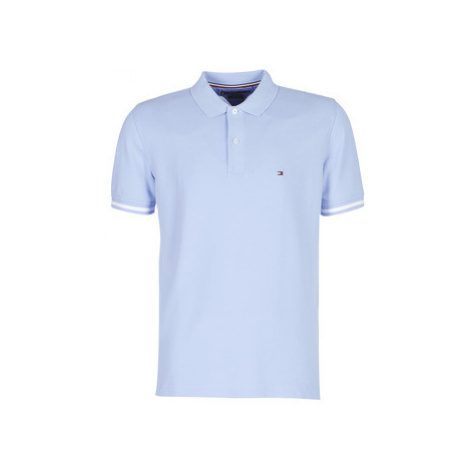 Tommy Hilfiger BASIC TIPPED REGULAR POLO men's Polo shirt in Blue