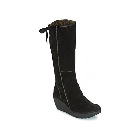 Fly London YUST women's High Boots in Black