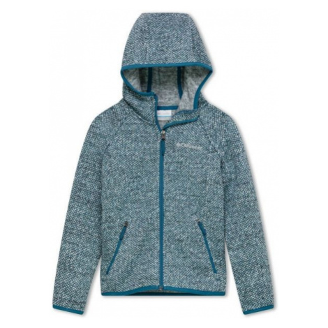 Columbia CHILLIN FULL ZIP FLEECE blue - Children's fleece sweatshirt