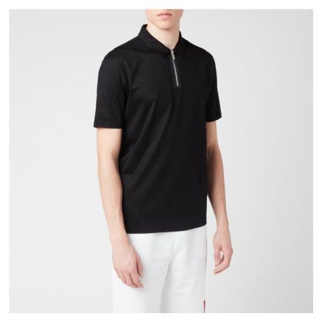HUGO Men's Dolden Polo Shirt - Black Hugo Boss