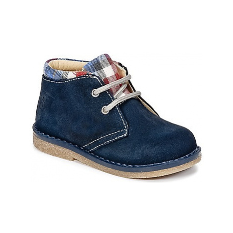 Citrouille et Compagnie HEYLI boys's Children's Mid Boots in Blue