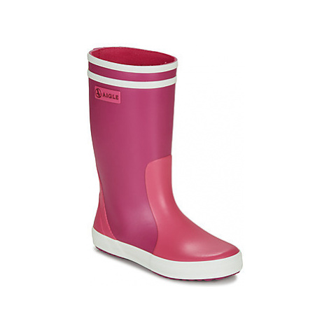 Aigle LOLLY POP COL girls's Children's Wellington Boots in Pink