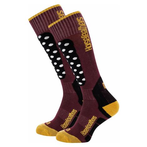 socks Horsefeathers Piper Thermolite - Dots - women´s