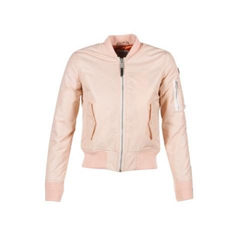 Schott BOMBER BY SCHOTT women's Jacket in Pink Schott NYC