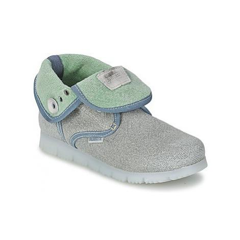 Bunker LAST WALK girls's Children's Mid Boots in Grey