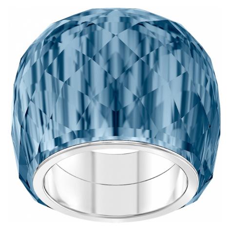 Swarovski Nirvana Ring, Blue, Stainless steel