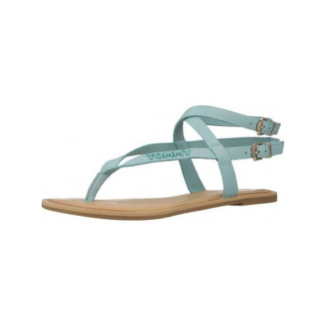 Tommy Hilfiger ICONIC FLAT STRAPPY SAND women's Sandals in Blue