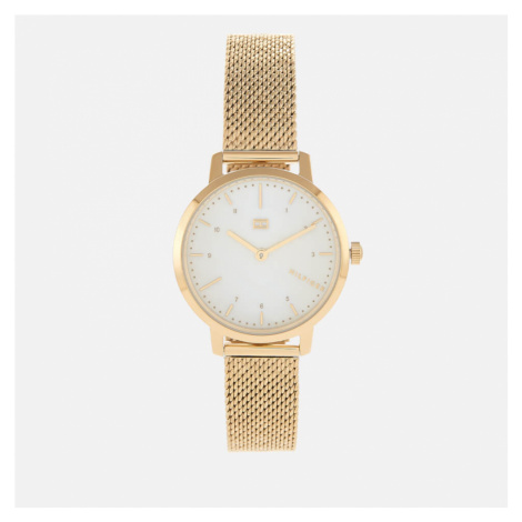 Tommy Hilfiger Women's Lily Mesh Strap Watch - Rou White