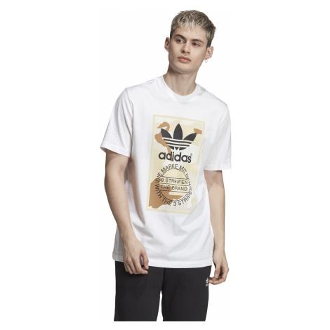 adidas Performance Camo T-shirt White