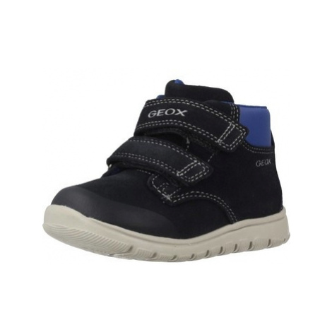 Geox B XUNDAY B.A boys's Children's Mid Boots in Blue