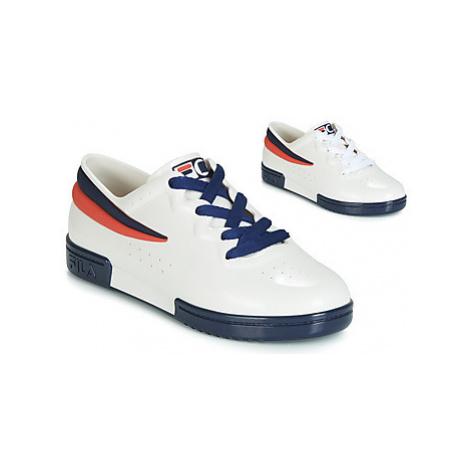Melissa SNEAKER + FILA women's Shoes (Trainers) in White