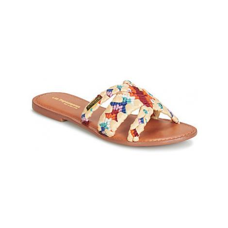 Les Tropéziennes par M Belarbi GOOD women's Mules / Casual Shoes in Multicolour