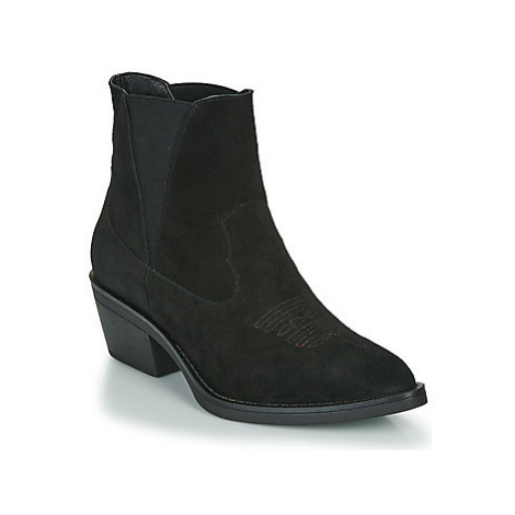 Les Petites Bombes IRINA women's Low Ankle Boots in Black