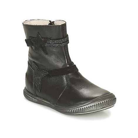 GBB NOTTE girls's Children's Mid Boots in Black