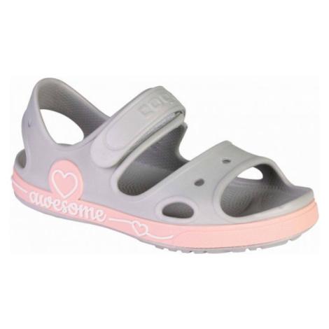 Coqui YOGI gray - Kids' sandals