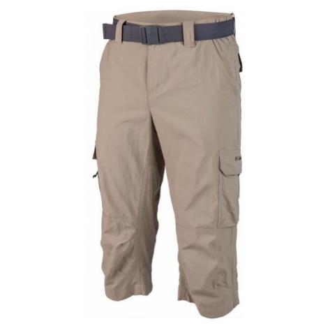 Columbia SILVER RIDGE II CAPRI beige - Men's capri pants