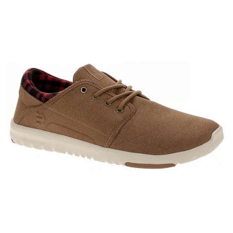 shoes Etnies Scout - Brown/Tan/Brown - men´s