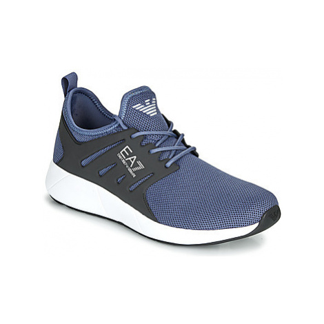 Emporio Armani EA7 MINIMAL RUNNING U men's Shoes (Trainers) in Grey