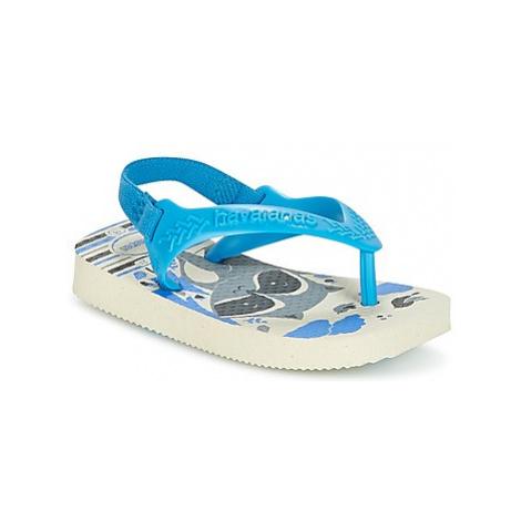 Havaianas BABY PETS boys's Children's Flip flops / Sandals in Beige