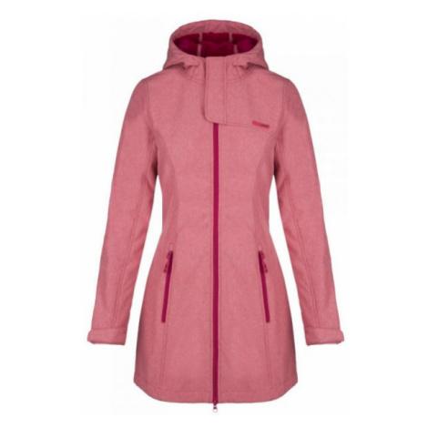 Loap LINZI pink - Women's softshell coat