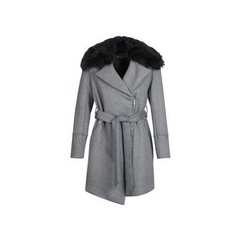 Morgan GFRAK women's Coat in Grey