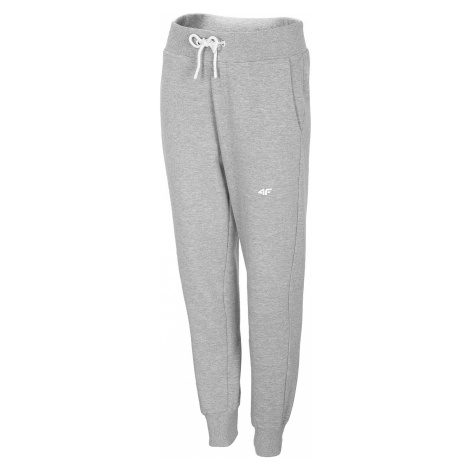 tracksuit 4F NOSH4-SPDD001 - 27M/Cold Light Gray Melange - women´s